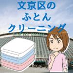 文京区のふとんクリーニング店